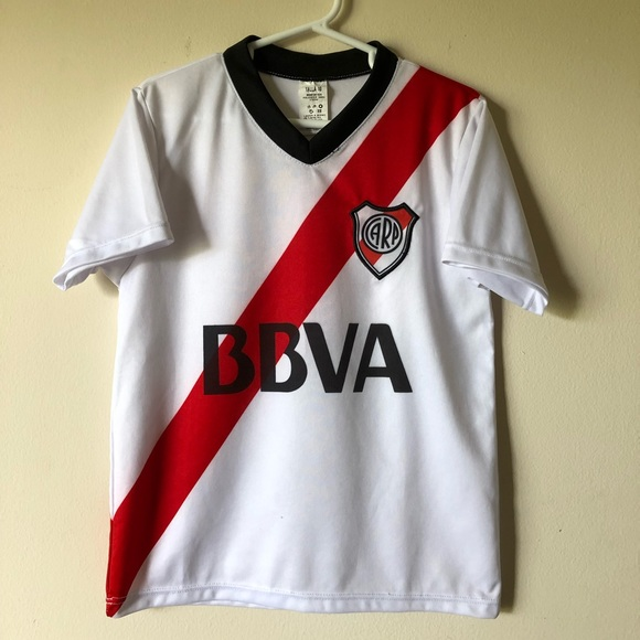 new styles 3d2b0 646f9 Club Atlético River Plate Replica Soccer Jersey